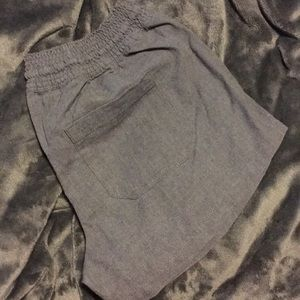 Casual dark gray shorts